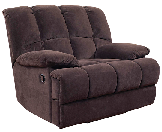 A.W.F. 201D Donna Chocolate Recliner