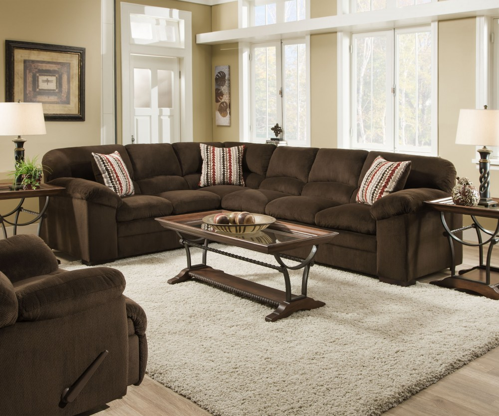 A.W.F. 8043 Dover Sectional