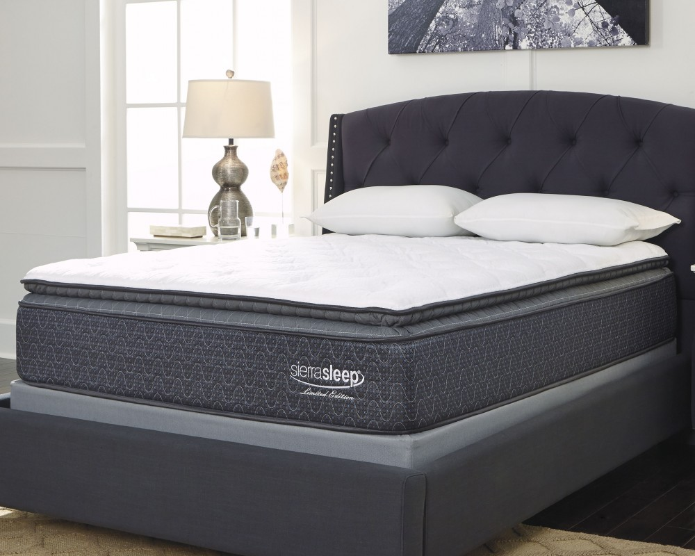 Limited Edition Pillowtop - White - King Mattress