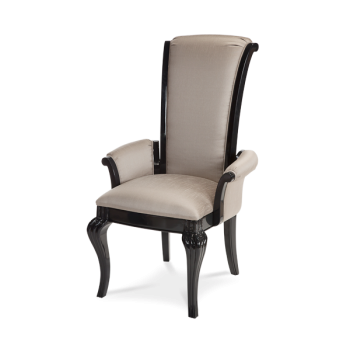 AMINI Hollywood Swank Arm Chair Graphite