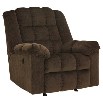 Ludden - Cocoa - Power Rocker Recliner