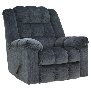 Ludden - Blue - Rocker Recliner
