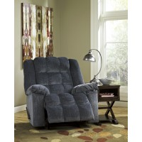 Ludden - Blue - Power Rocker Recliner