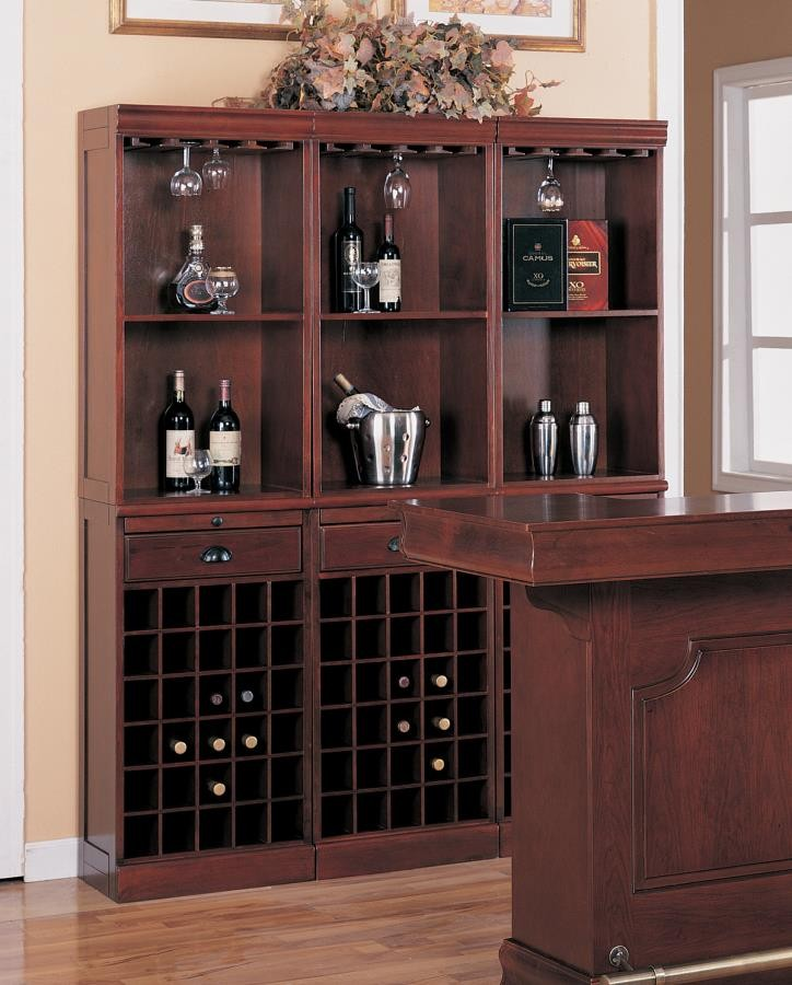 BAR UNITS: TRADITIONAL/TRANSITIONAL - WALL UNIT