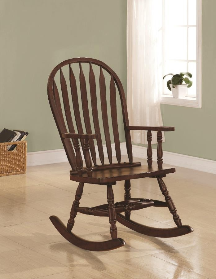 LIVING ROOM: ROCKING CHAIRS - Traditional Rocking Chair ...