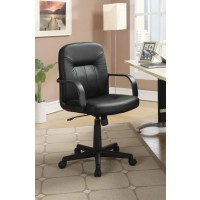 HOME OFFICE : CHAIRS - Contemporary Black Office Chair