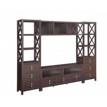 LIVING ROOM : TV CONSOLES - Casual Cappuccino Bridge