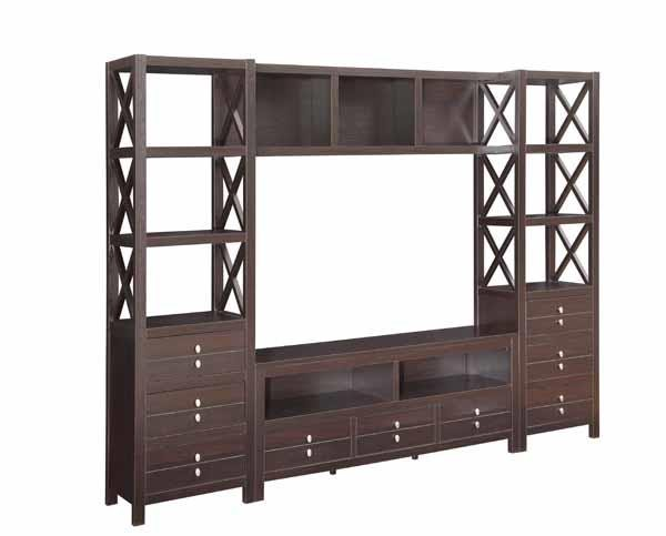 LIVING ROOM : TV CONSOLES - Casual Cappuccino Bridge