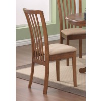BRANNAN GROUP - Brennan Light Brown Dining Chair (Pack of 2)