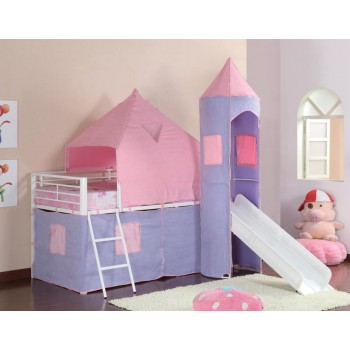 PRINCESS CASTLE TENT BED - BUNK BED