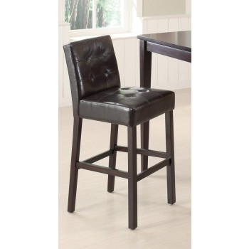 REC ROOM/ BAR TABLES: WOOD - BAR HEIGHT STOOL (Pack of 2)