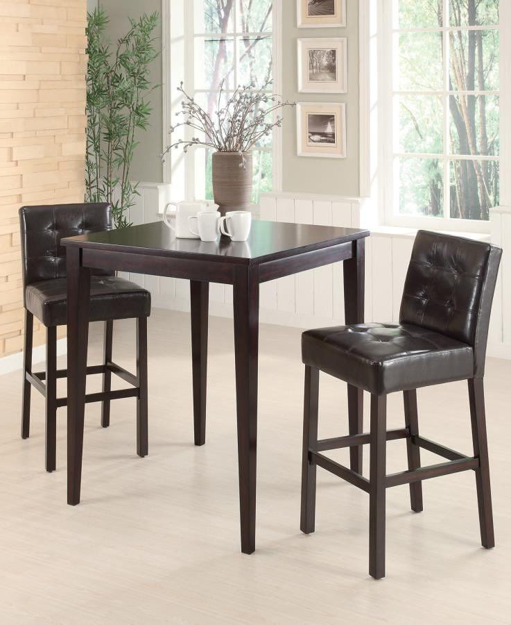 Rec Room Bar Tables Wood Bar Height Stool Pack Of 2
