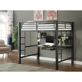 WORKSTATION LOFT BED - FULL WORKSTATION LOFT BED