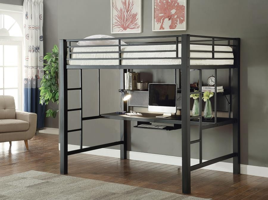This is an image of Gorgeous Printable Full Size Loft Bed Plans