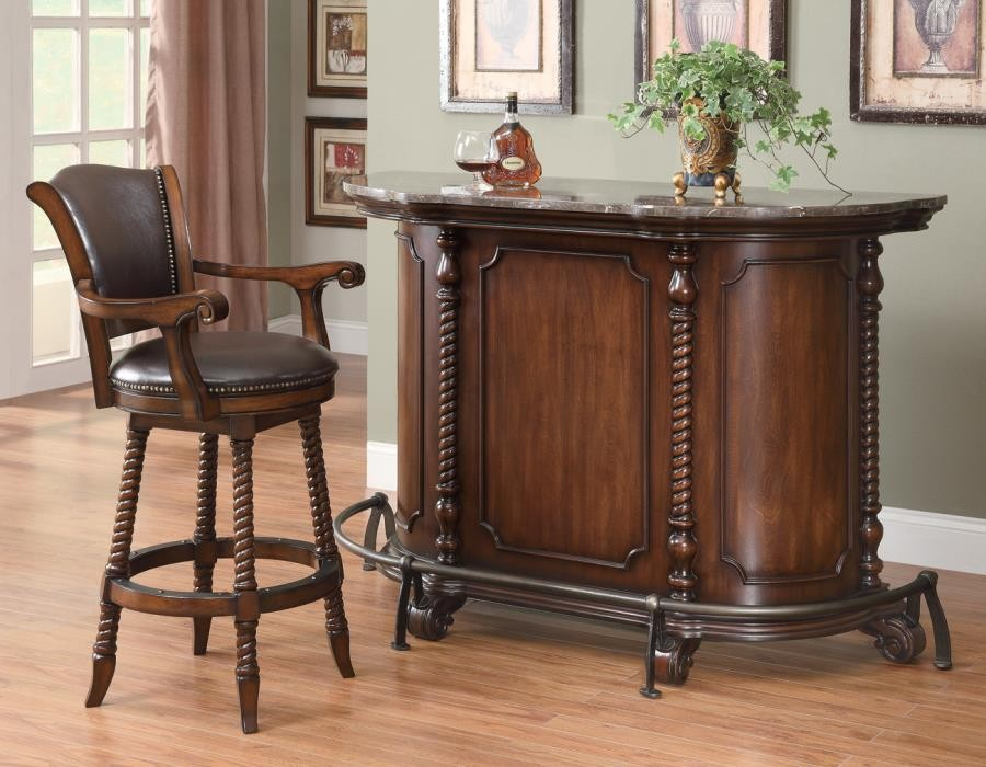 BAR UNITS: TRADITIONAL/TRANSITIONAL - Rec Room Traditional Bar Unit