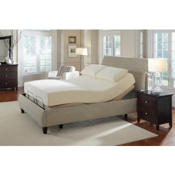 Premier Bedding Pinnacle Adjustable Bed Base - Premier Casual Beige Twin Adjustable Bed