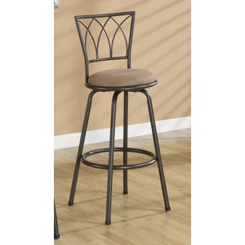 BAR STOOLS: METAL SWIVEL - 29 BAR STOOL (Pack of 2)