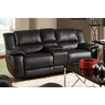 LEE LIVING ROOM - GLIDER LOVESEAT W/ CONSOLE