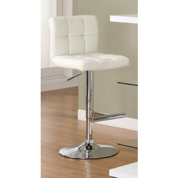REC ROOM/BAR STOOLS: HEIGHT ADJUSTABLE - ADJUSTABLE BAR STOOL (Pack of 2)