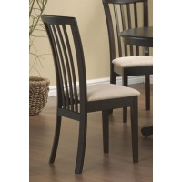 BRANNAN GROUP - Brannan Casual Cappuccino Dining Chair (Pack of 2)
