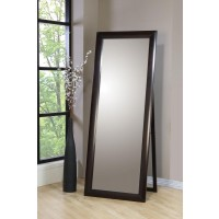 PHOENIX COLLECTION - Phoenix Floor Mirror Deep Cappuccino