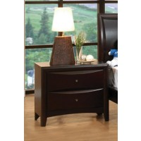PHOENIX COLLECTION - Phoenix Cappuccino Nightstand