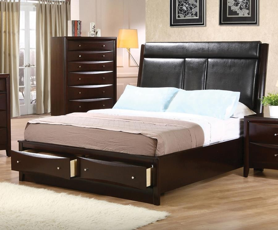 PHOENIX COLLECTION - CAL KING BED