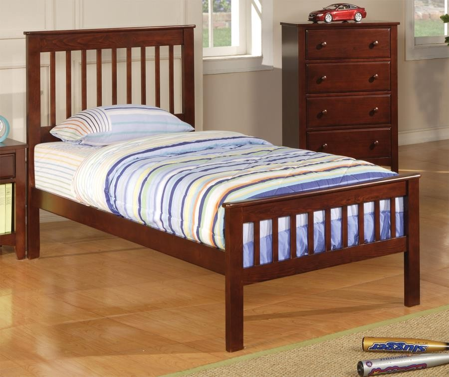 Parker Collection Twin Bed 400290t Beds Price