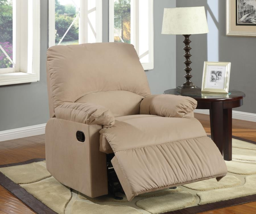 LIVING ROOM : GLIDERS RECLINER - Casual Brown Glider Recliner