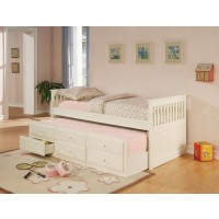 TWIN DAYBED WITH TRUNDLE - DAYBED W/ TRUNDLE