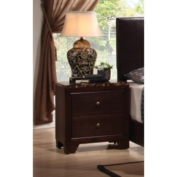 CONNER COLLECTION - Conner Casual Two-Drawer Nightstand