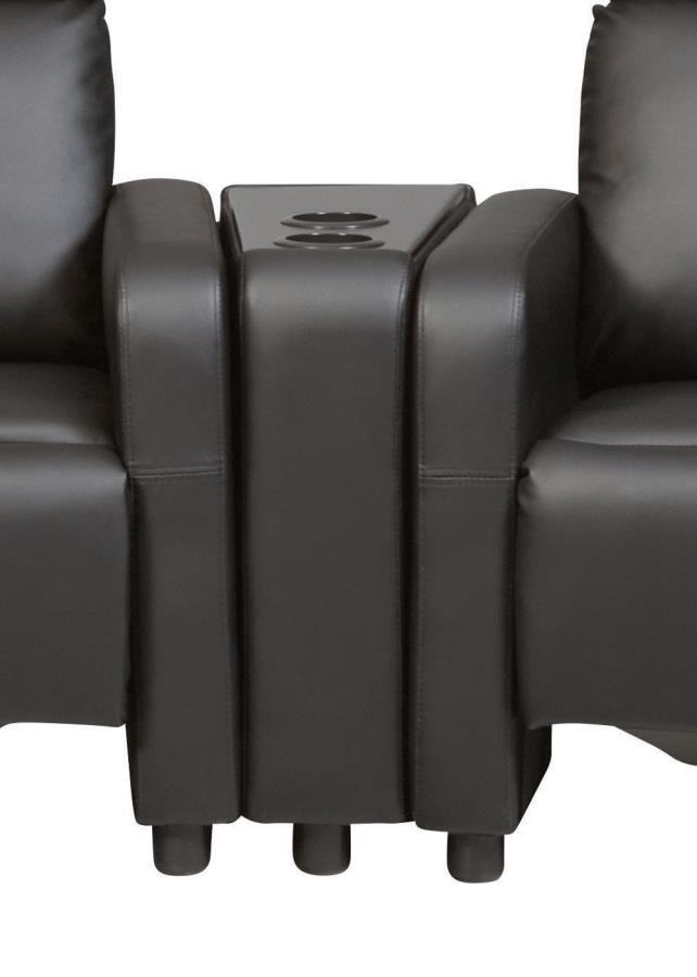 TOOHEY HOME THEATER COLLECTION - Toohey Home Theater Black Console