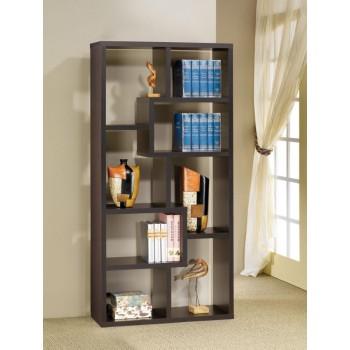 HOME OFFICE : BOOKCASES - Casual Cappuccino Bookcase