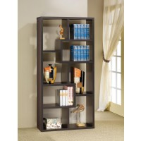 HOME OFFICE : BOOKCASES - Casual Cappuccino Bookcase