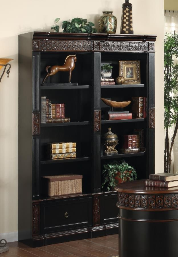 ROWAN COLLECTION - DOUBLE BOOKCASE