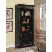ROWAN COLLECTION - Nicolas Traditional Espresso Bookcase