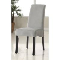 STANTON COLLECTION - Stanton Grey Upholstered Dining Chair (Pack of 2)