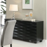 STANTON COLLECTION - Stanton Contemporary Black Server