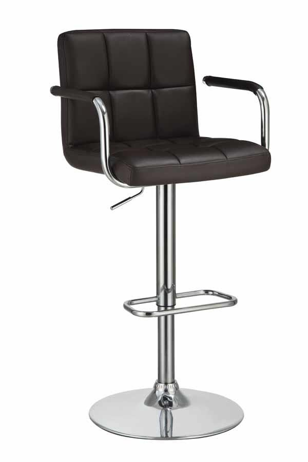 REC ROOM/BAR STOOLS: HEIGHT ADJUSTABLE   ADJUSTABLE BAR STOOL