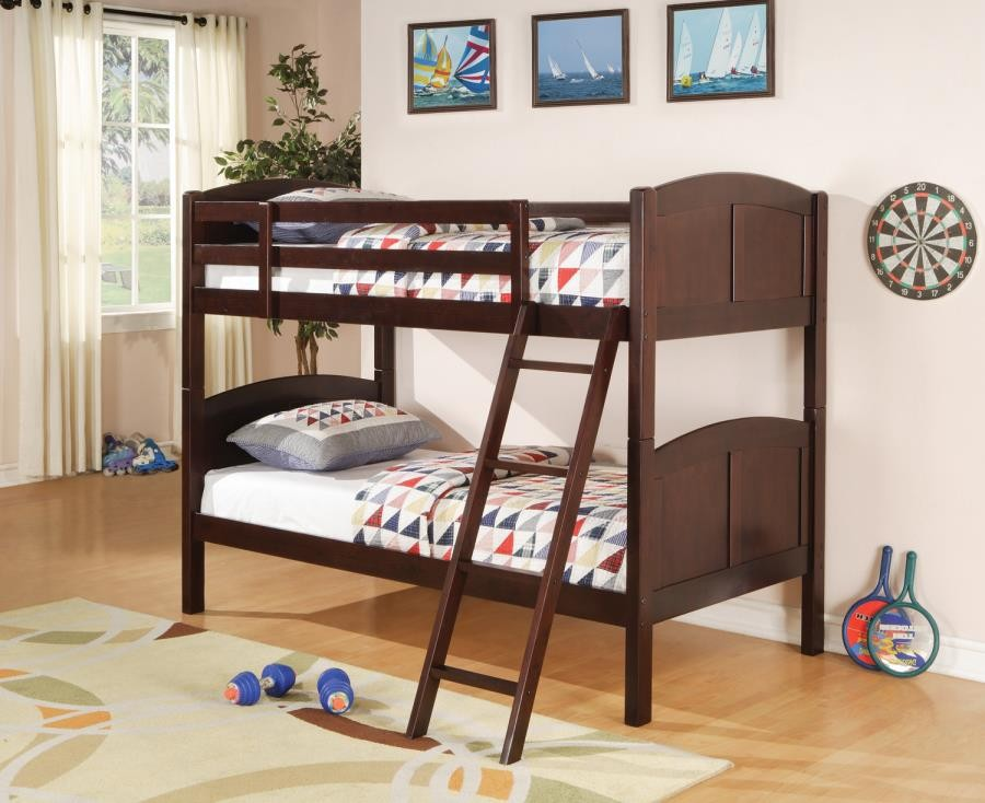 Parker Collection Bunk Bed 460213 Bunk Beds Furniture Factory