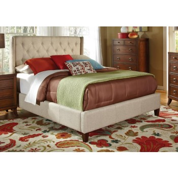 Owen Upholstered Bed - QUEEN BED