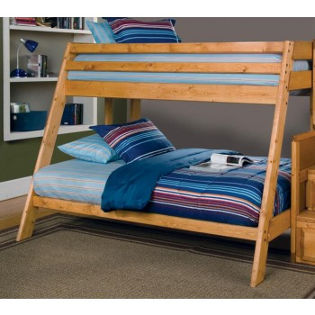 WRANGLE HILL COLLECTION - T/F BUNK BED