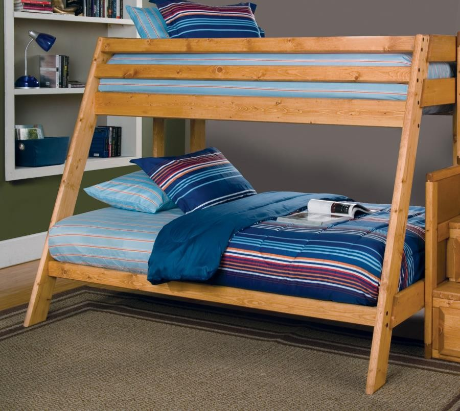 Wrangle Hill Collection T F Bunk Bed 460093 Bunk Beds