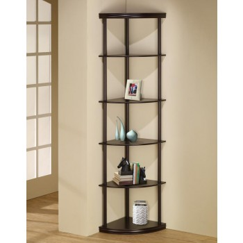 HOME OFFICE : BOOKCASES - CORNER BOOKCASE