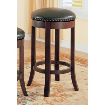 BAR STOOLS: WOOD FIXED HEIGHT - 29 BAR STOOL (Pack of 2)