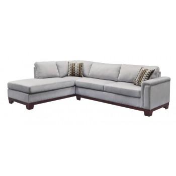 MASON SECTIONAL - Mason Casual Blue Grey Sofa
