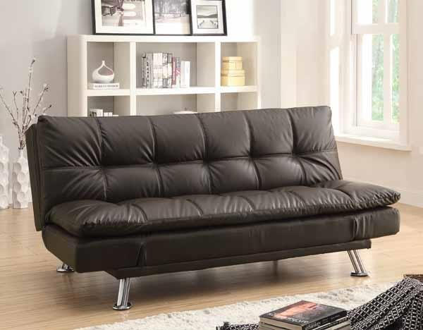 DILLESTON COLLECTION - Dilleston Contemporary Brown Sofa Bed