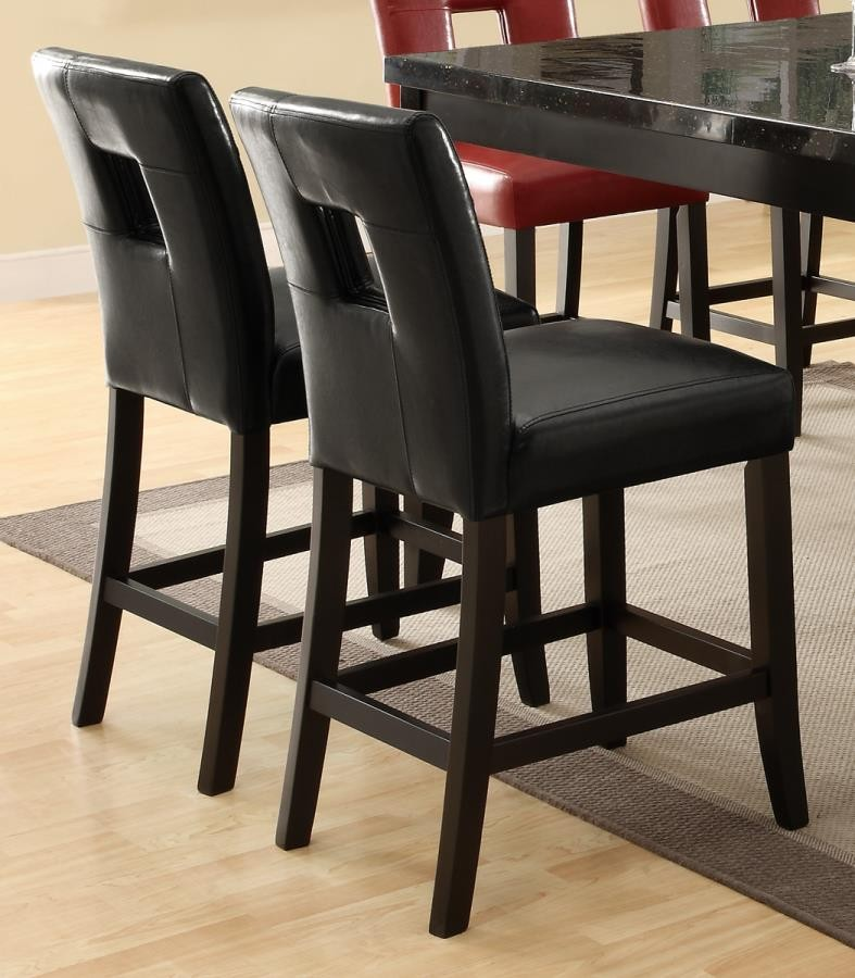 Everyday Dining Stools Newbridge Causal Black Counter