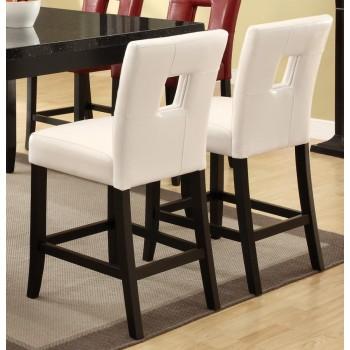EVERYDAY DINING: STOOLS - Newbridge Causal White Counter-Height Chair (Pack of 2)