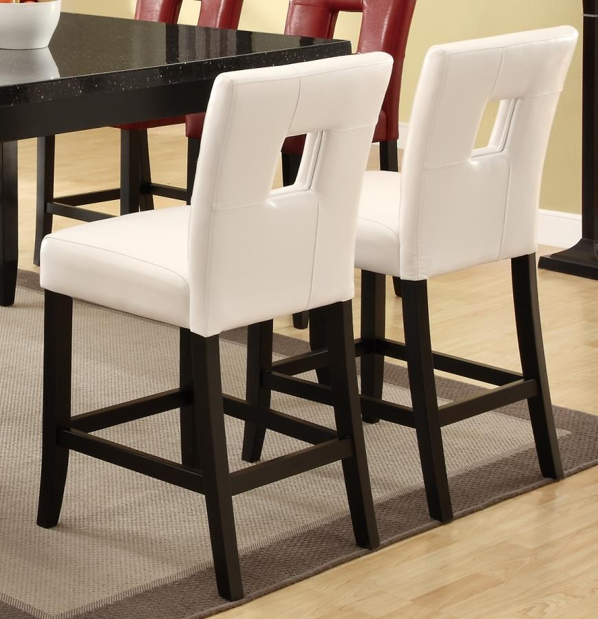 Everyday Dining Stools Newbridge Causal White Counter